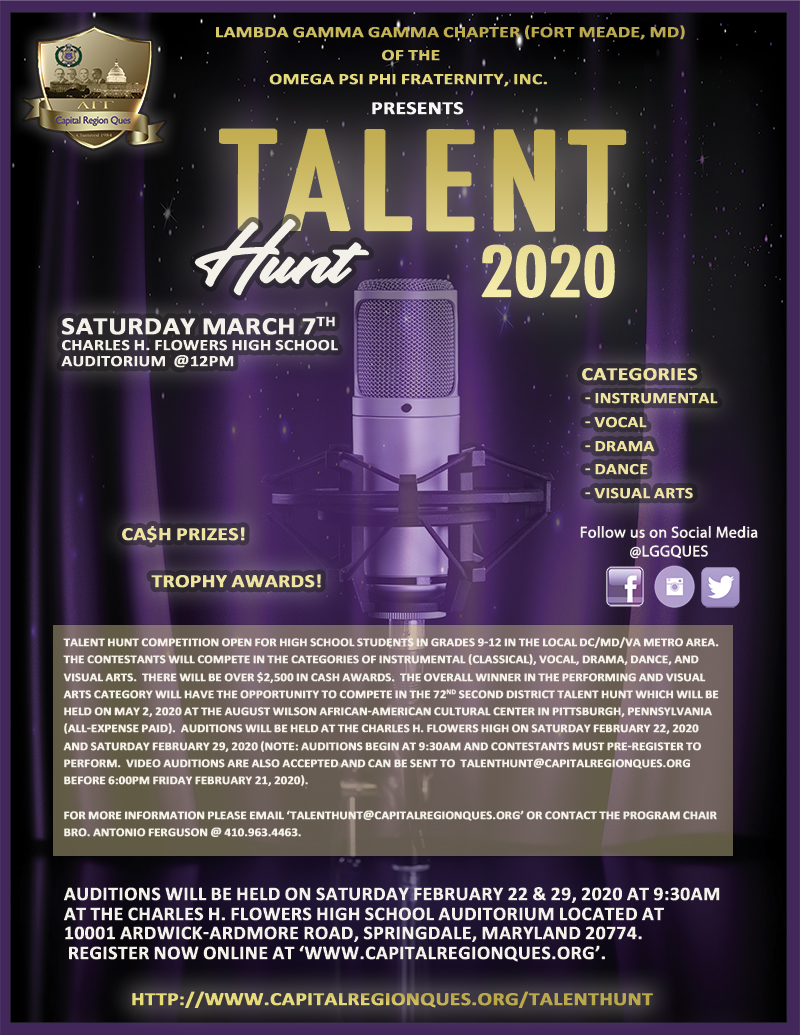 Talent Hunt 2020