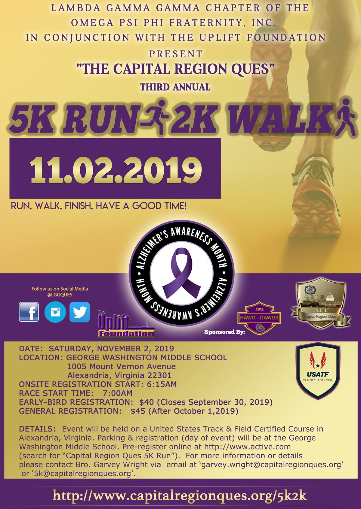 5K Run/2K Walk